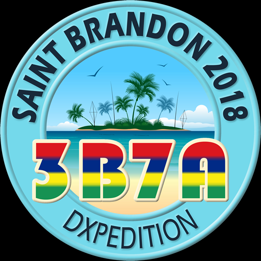 3B7A Saint Brandon Island DX Pedition Logo