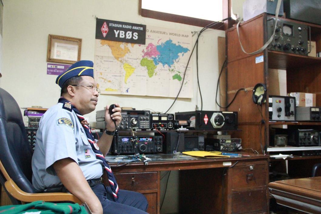Amateur Radio Station Wb4omm: Ham Radio Stations Or Shacks Photos And Images