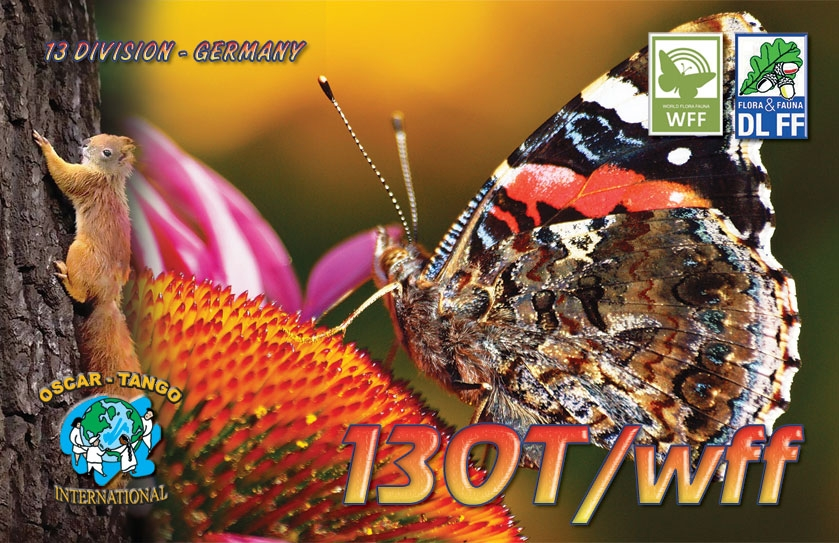 13OT/WFF Germany Oscar Tango Group QSL
