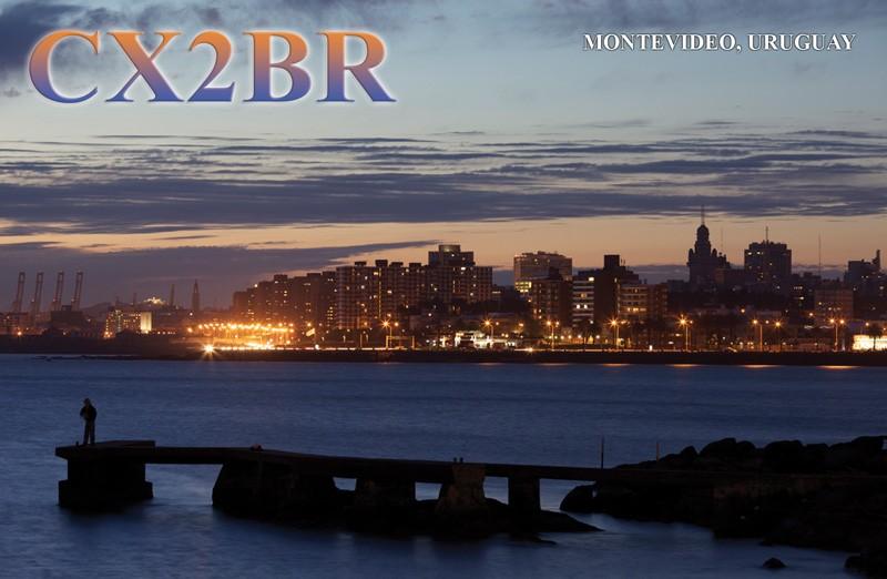 CX2BR Gustavo Ariel Sosa, Montevideo, Uruguay. QSL.