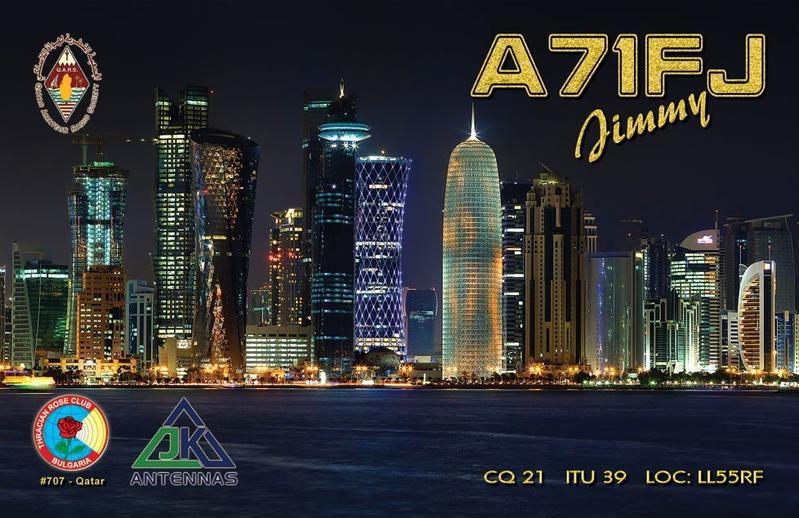 A71FJ Jameel Al-ansari Doha Qatar QSL