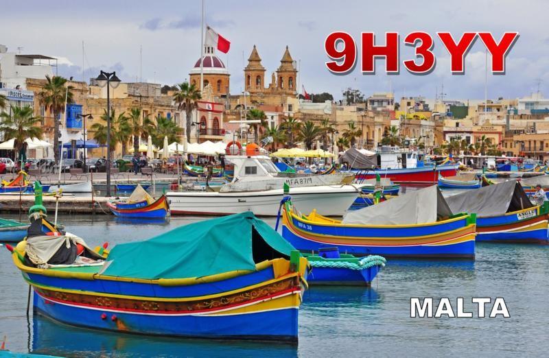 9H3YY Rene Matthes, Malta.