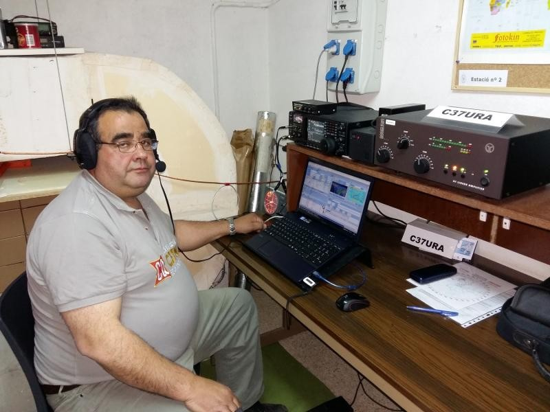 C31KC Beli Oeja Pereiro, Andorra. Radio Room Shack.