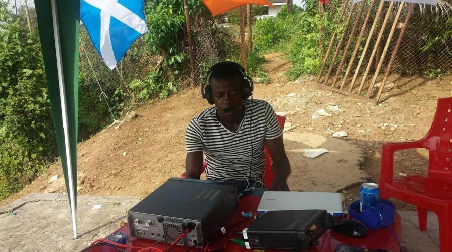 EL2EF Eric Forpra, Monrovia, Liberia