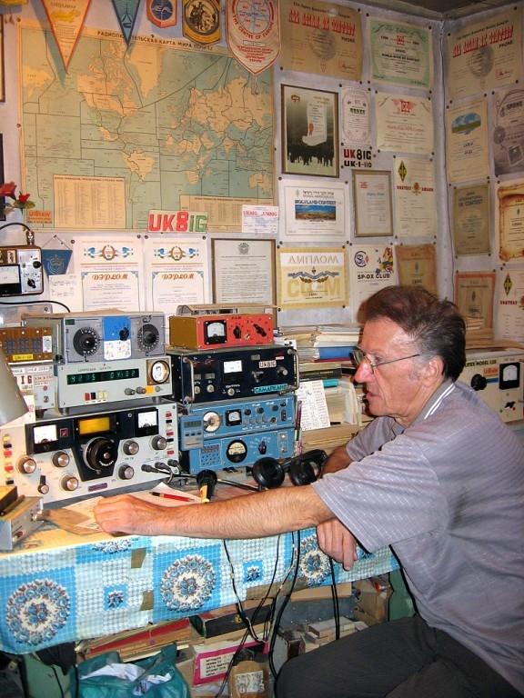 UK8IG Valery Lapin Samarkand Uzbekistan