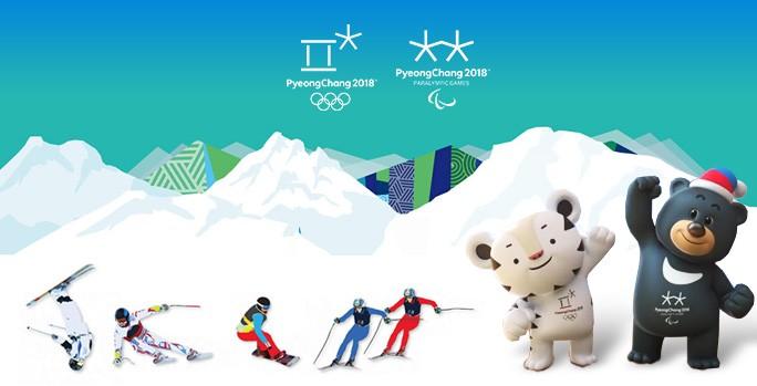 DS23GOO/2 PyeongChang, Korea. Winter Olympic Games