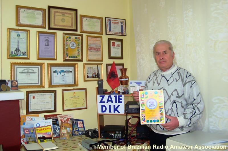 ZA1E Sadik Agalliu Tirana Albania