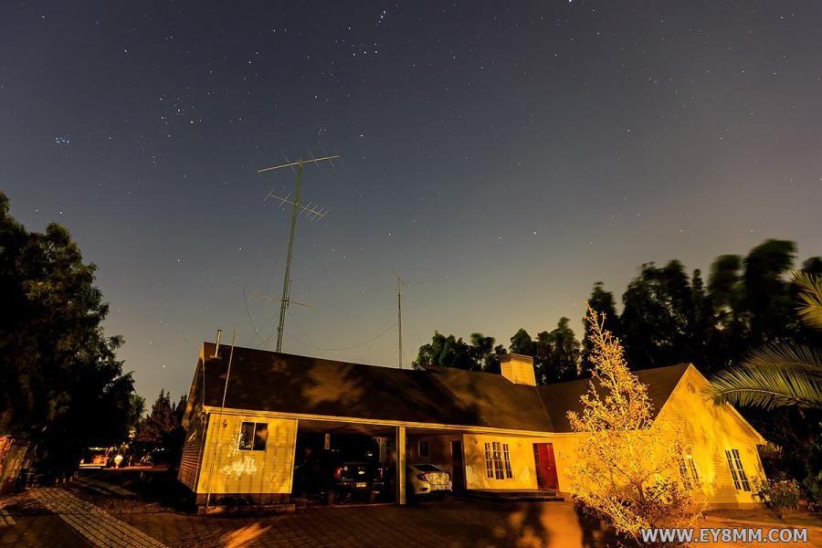 CE3CT Pepe Ardid, Chicureo, Chile. Antennas
