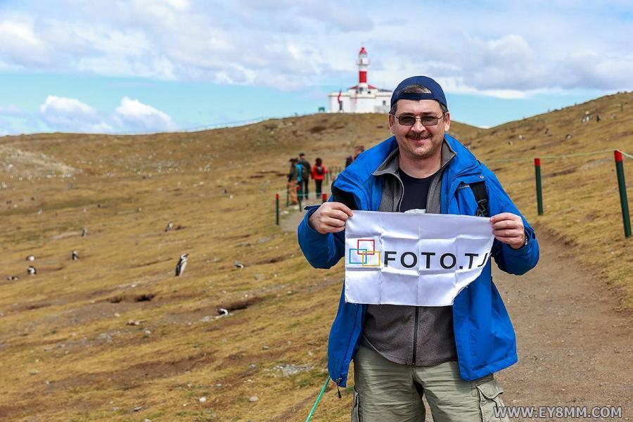 CE8/EY8MM Nodir Tursun Zade. Magdalena Island, Magellanes Region, Chile.