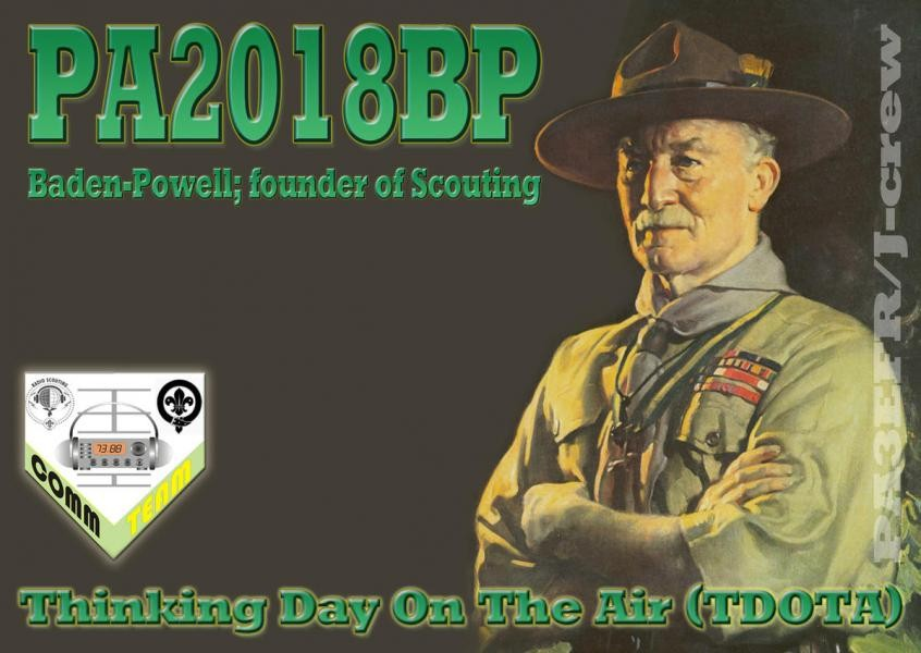 PA2018BP Baden Powell Special Event Station