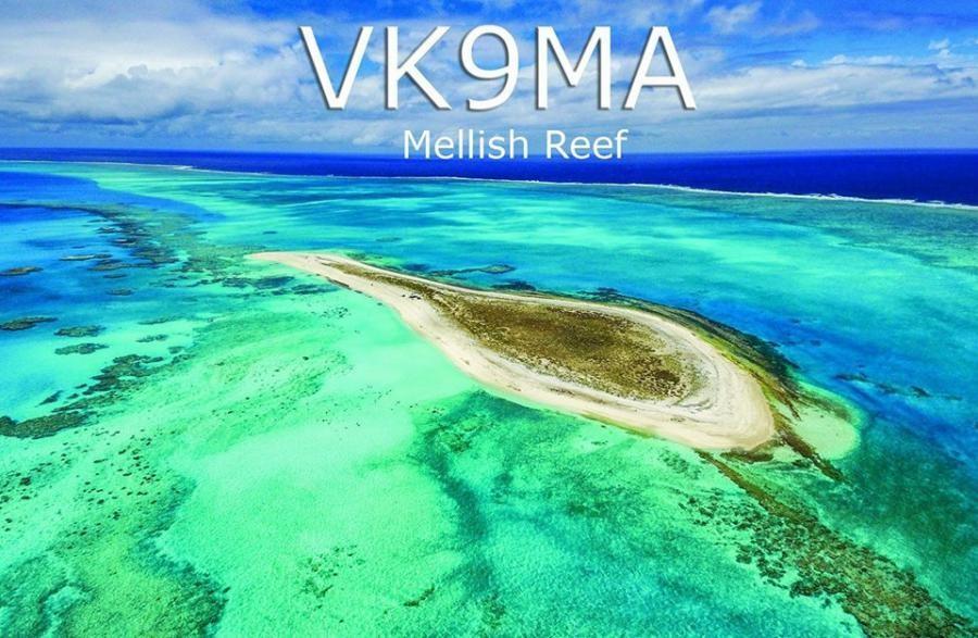 VK9MA Mellish Reef QSL
