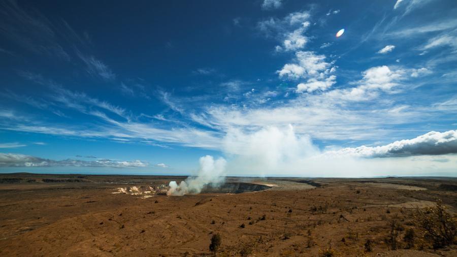 AH7DN Hawaii Volcanoes National Park, Hawaiian Islands.
