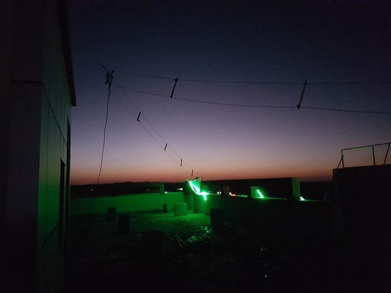 6O6O Somalia Sunset and lights.40+30m dipole.