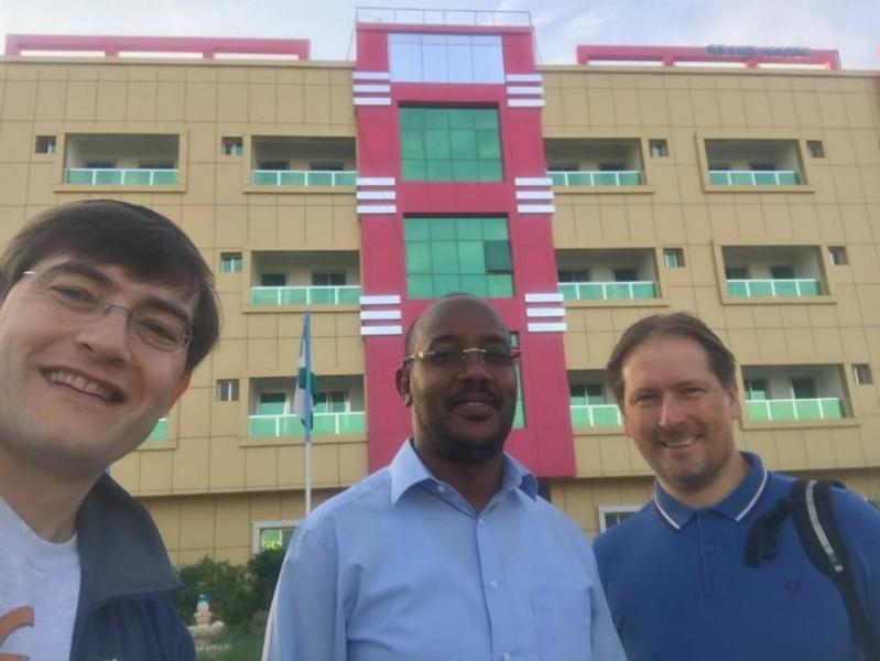 6O6O Grand Hotel, Garowe, Puntland, Somalia. KO8SCA, Minister, LA7GIA