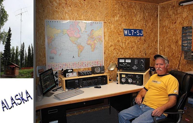 WL7SJ Terry Shedd, Soldotna, Alaska. QSL.
