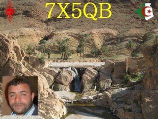 7X5QB Redha El Bahi, Bou Saada, Algeria.