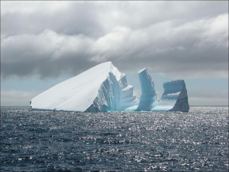 3Y0Z Bouvet Island DX Pedition Iceberg