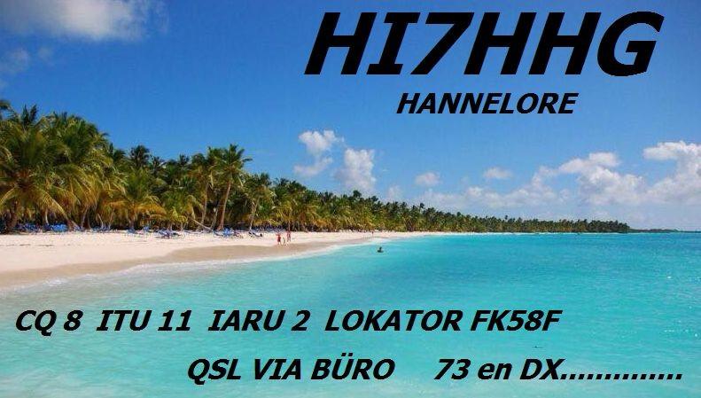 HI7HHG Higüey, Dominican Republic