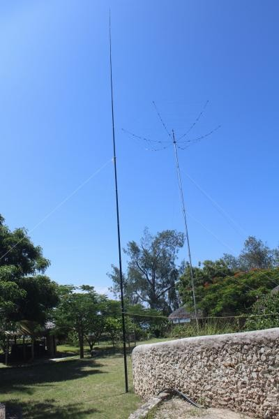 C8X C81G Ibo Island Hex Beam with 40m vertical