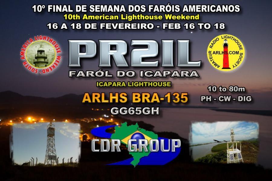 PR2IL Icapara Lighthouse, Icapara, Iguape, Brazil.