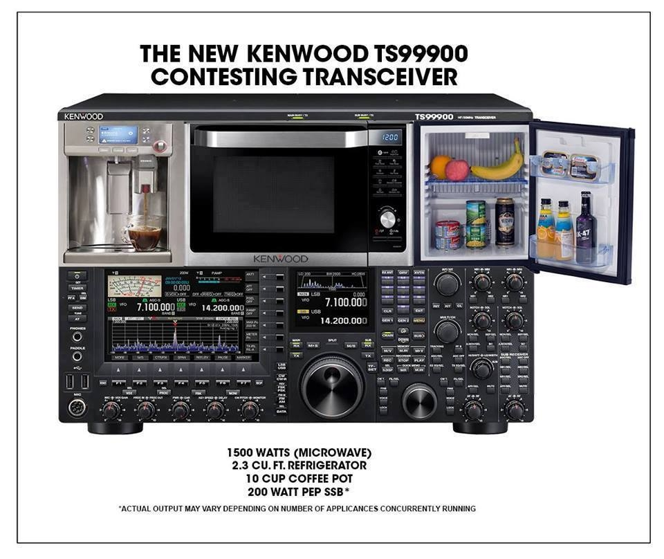 Kenwood TS - 99900 transceiver for contesters