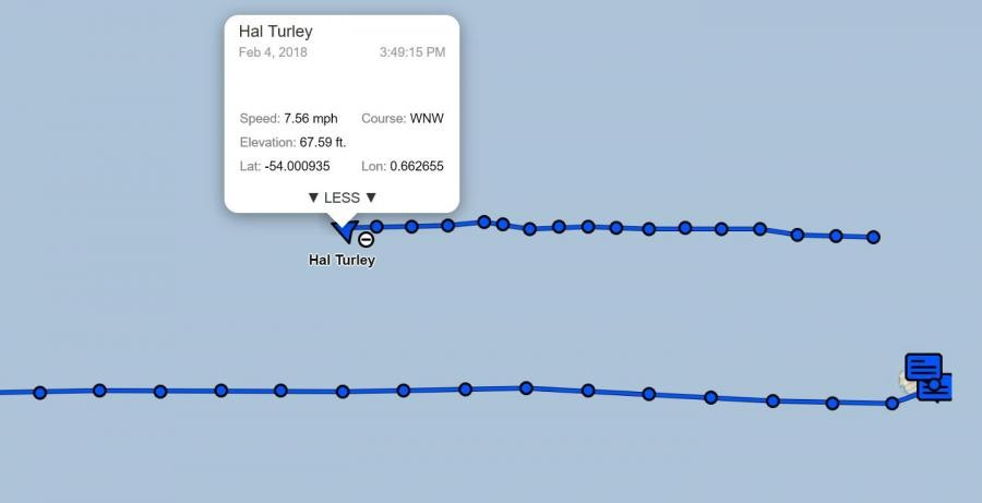 3G9A/MM 3Y0Z Way back to Chile from Bouvet Island