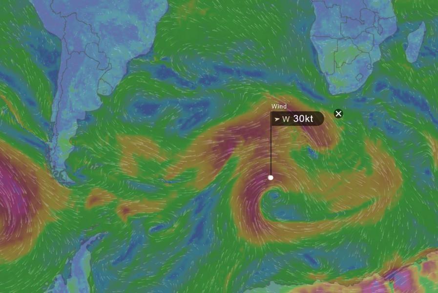 3Y0Z Bouvet Island Wind Map 3G9A/MM