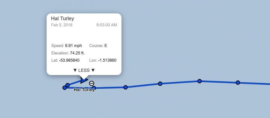 3G9A/MM Bouvet Island DX Pedition Turn back