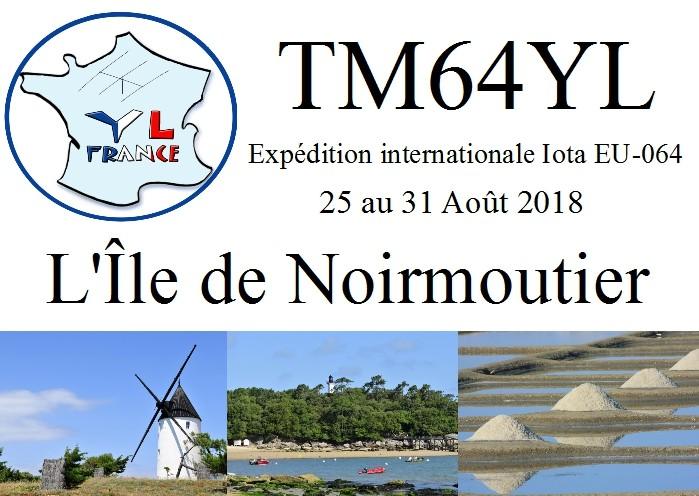 TM64YL Noirmoutier Island France YL Association