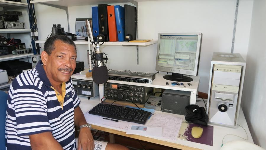 FM5DR Serge Germe, Sainte Marie, Martinique Island
