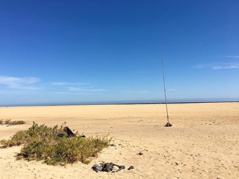 EA8/DJ5SL/P Beach of Risco El Paso, Fuerteventura Island, Canary Islands.