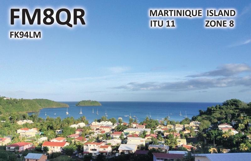FM8QR Jean Michel Suire, Les Troits Ilets, Martinique.