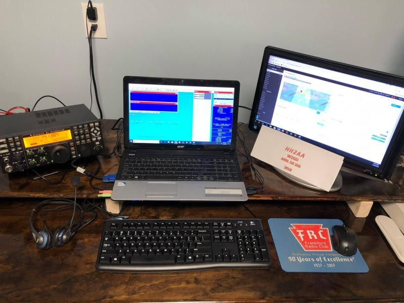 HH2AA Haiti W2GD Remote operation