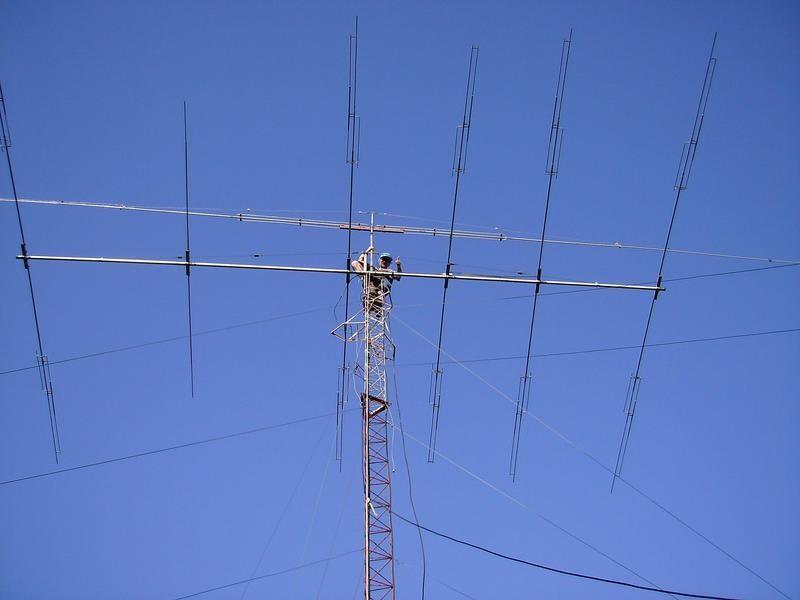 LQ7E LW3DN Claudio Nicolai, Junin, Argentina. Antenna.
