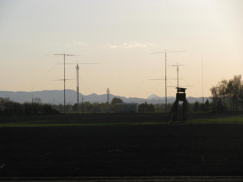 9A70A Radio Club Varazdin, Croatia. Antennas.