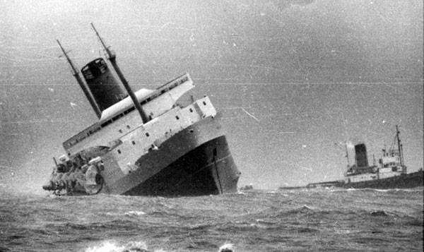 ZM50GW TEV Wahine, Wahine Disaster.