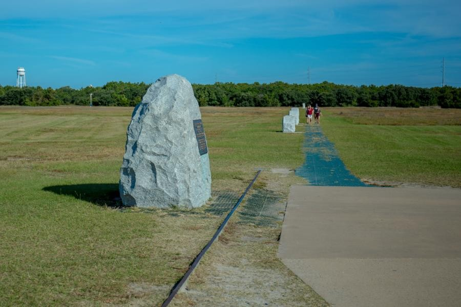 N4EX/P Wright Brother's National Memorial, Kitty Hawk Woods