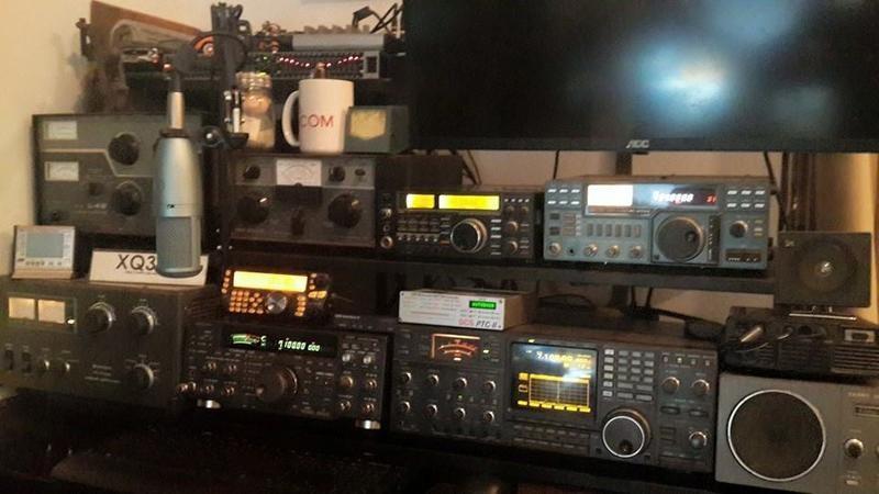 OA4/XQ3SA Guillerom Guerra, Miraflores, Lima, Peru. Radio Room Shack.