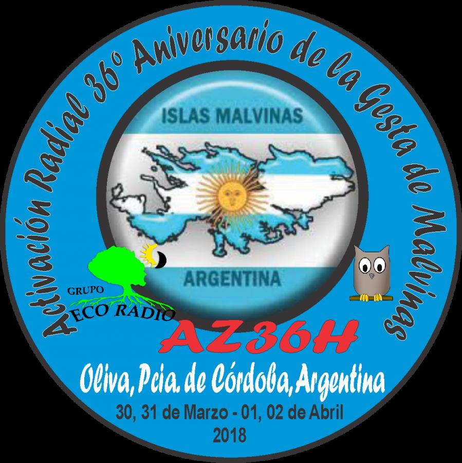 AZ36H Gesta de las Islas Malvinas, Cordoba, Argentina.