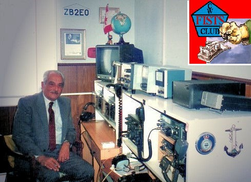 ZB2EO ZB2RAF JJohn Bautista, Gibraltar. Radio Room Shack.