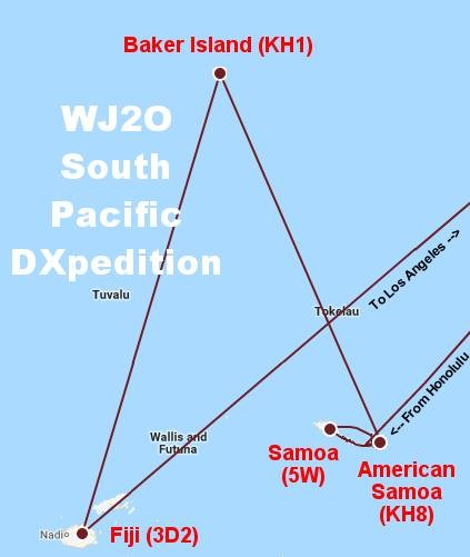 WJ2O South Pacific DX Pedition