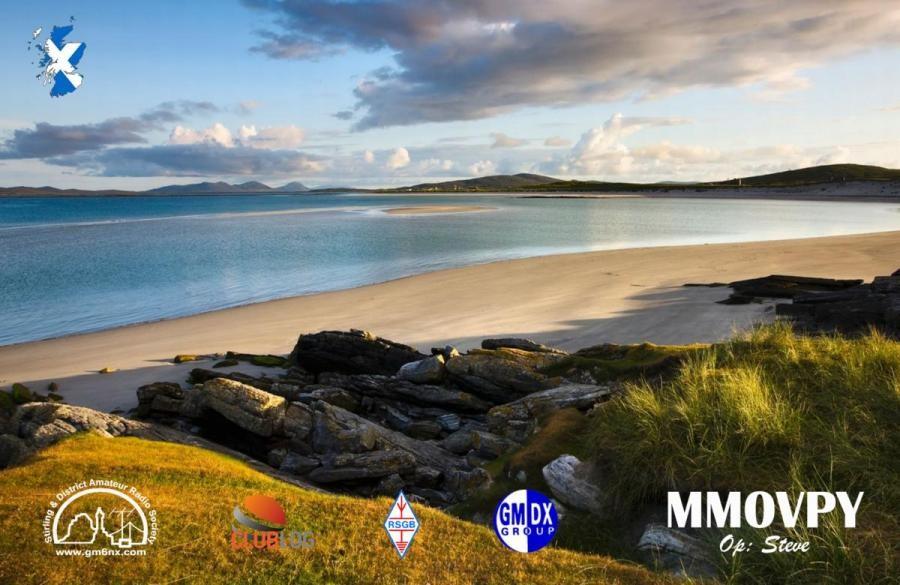 MM0VPY Holy Isle, Scotland