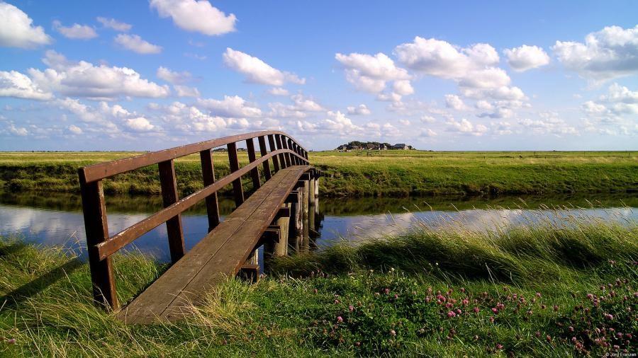 DG5LAC/P Hooge island, Wadden Sea, Nordfriesland, Germany.