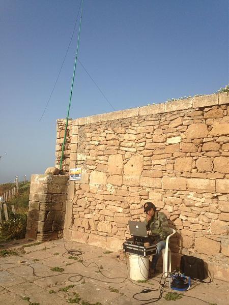 5C5AF Mogador Island Antenna