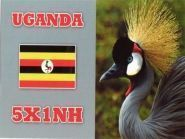 5X1NH Уганда 2013