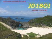 JD1BOI Остров Титидзима