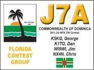 J7A J75KG J79XX J79WI J79MP Dominica Island