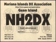 NH2DX Остров Гуам