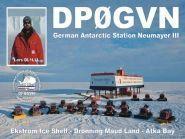 DP0GVN Станция Ноймайер III Антарктида