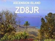 ZD8JR Ascenstion Island QSL